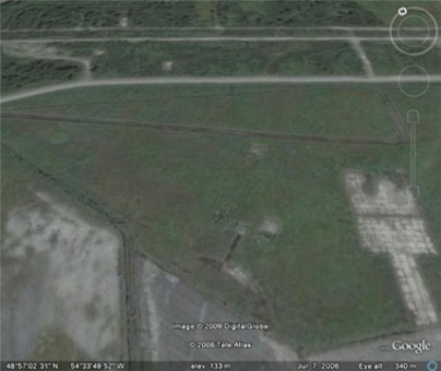 Aerial View of the Army Side.