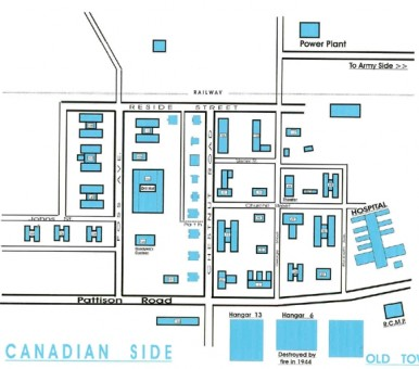 Map of Canadian Side