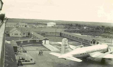 The RAF Side was built by the <br> British government to facilotate the &quot;Ferry Command&quot; Operations.<br>